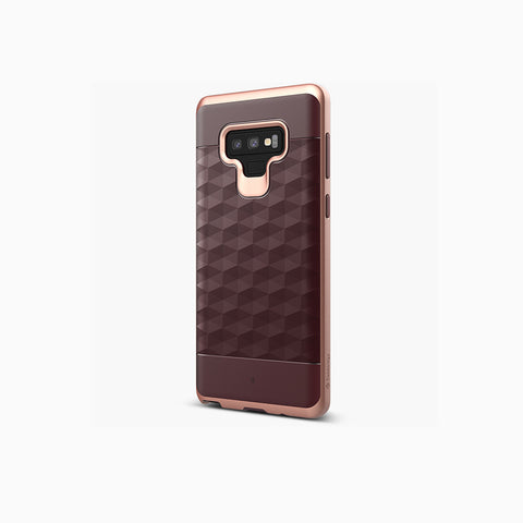 Galaxy Note 9 Cases Parallax  Burgundy