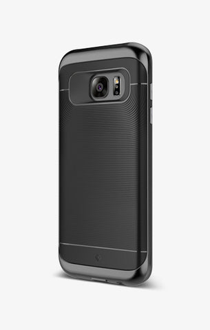 Galaxy S7 Edge Cases Wavelength  Black