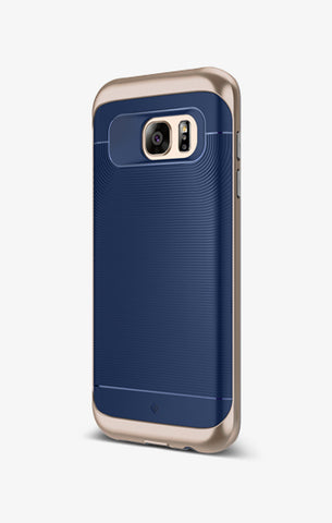 Galaxy S7 Edge Cases Wavelength  Navy Blue