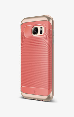 Galaxy S7 Edge Cases Wavelength for Galaxy S7 Edge  Coral Pink