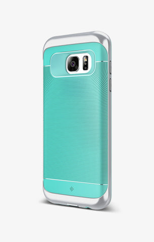 Galaxy S7 Edge Cases Wavelength  Mint Green