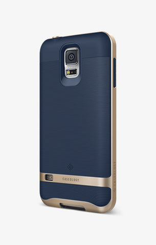 Galaxy S5 Cases Wavelength  Navy Blue