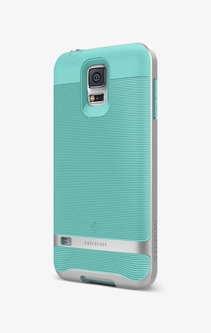Galaxy S5 Cases Wavelength  Turquoise Mint