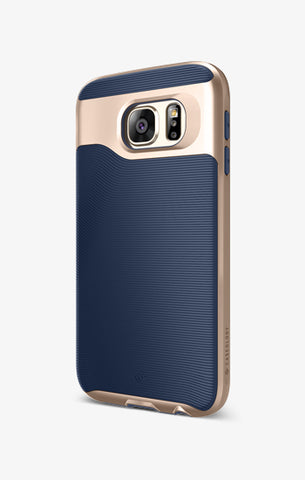 Galaxy S6 Cases Wavelength  Navy Blue