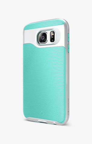 Galaxy S6 Cases Wavelength  Mint Green