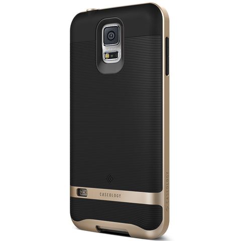 Galaxy S5 Galaxy S5 Case Wavelength  Black / Gold