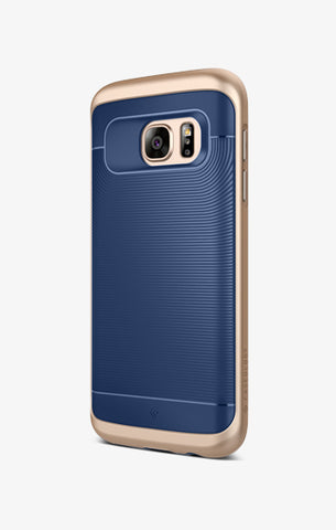 Galaxy S7 Cases Wavelength  Navy Blue