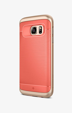 Galaxy S7 Cases Wavelength  Coral Pink