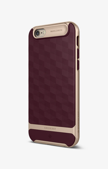 Parallax iPhone 6S Burgundy Case
