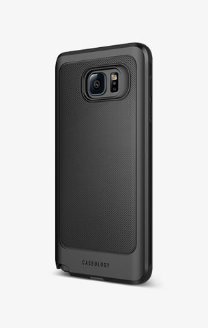 Galaxy Note 5 Cases Vault Charcoal Black Note5 | Caseology