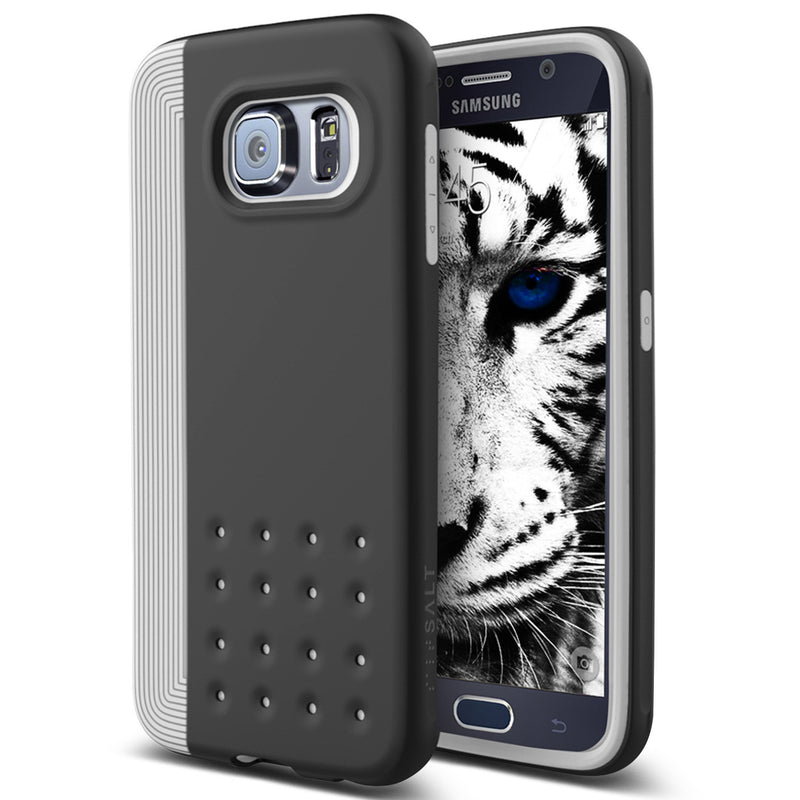 Caseology Galaxy S6 Case Threshold Series in Gray Black