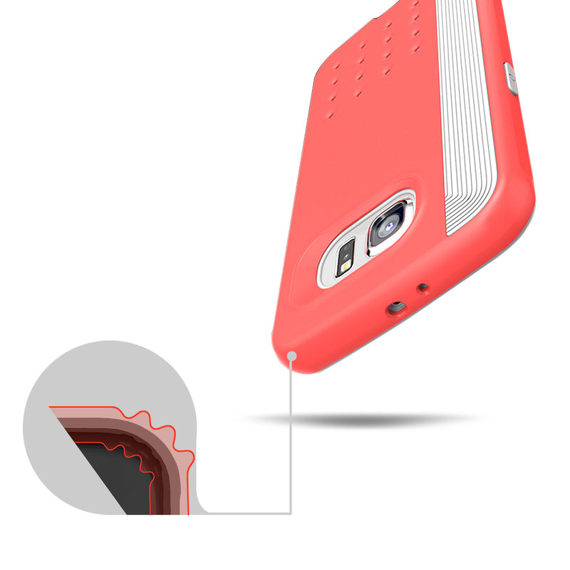 Caseology Galaxy S6 Case Threshold Series in Pink