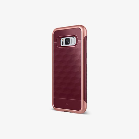 Galaxy S8 Cases Parallax  Burgundy