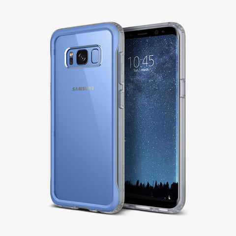 Galaxy S8 Cases Coastline  Blue Coral