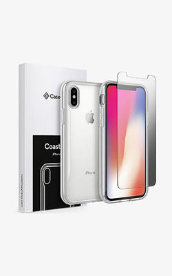 iPhone X Coastline and Tempered Glass Screen Protector Coastline and Tempered Glass Screen Protector