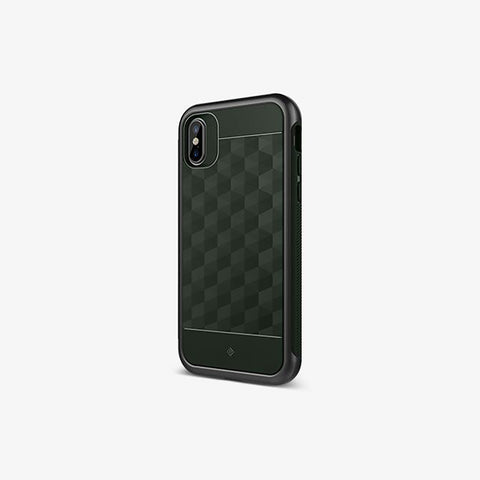 iPhone Cases -     iPhone X Parallax Pine Green