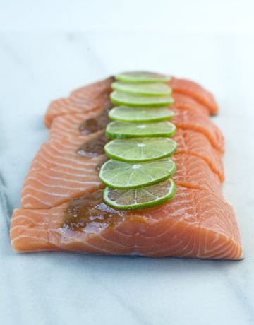 Salmon is a natural source of Omega-3's