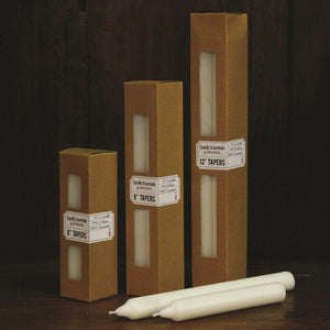HomArt Taper - Box of 24 - Ivory