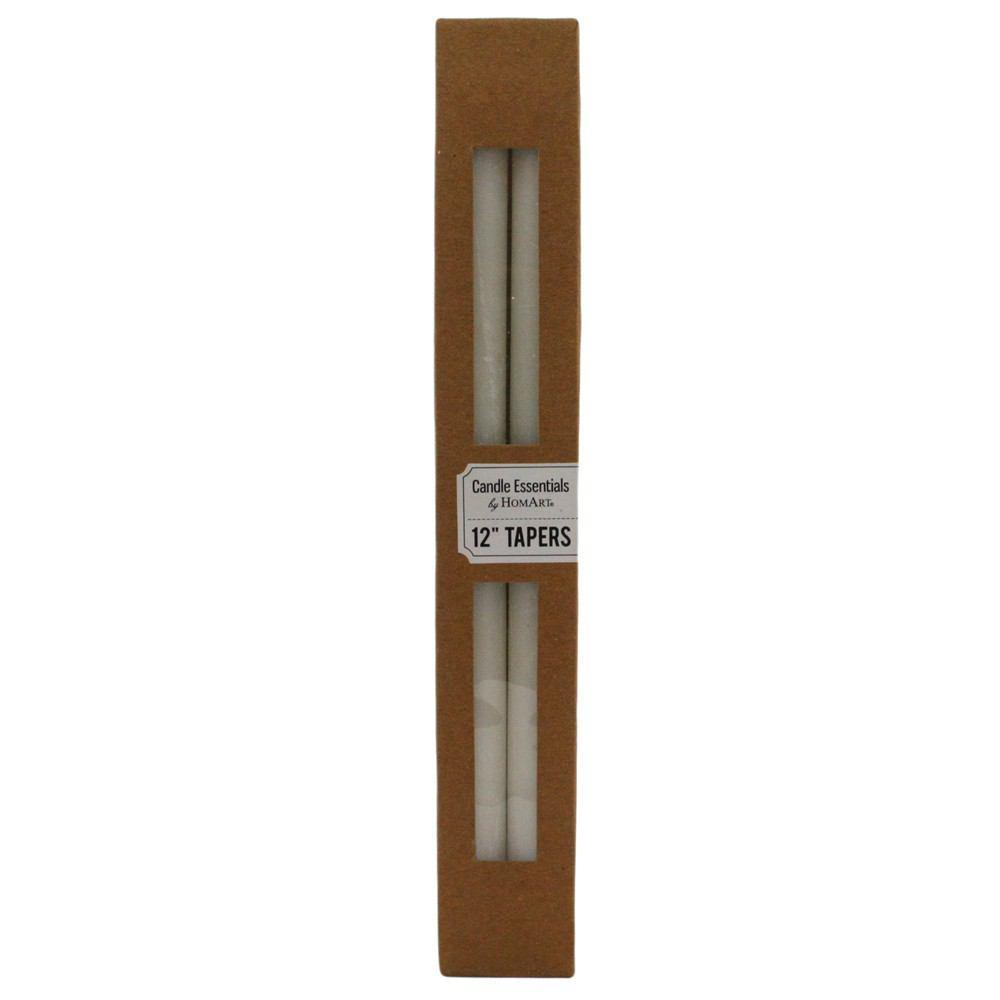 HomArt Taper - Box of 24 - Ivory - Feature Image