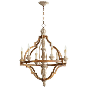 Bastille Six Light Chandelier