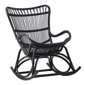 Sika Design Monet Rocking Chair - Black