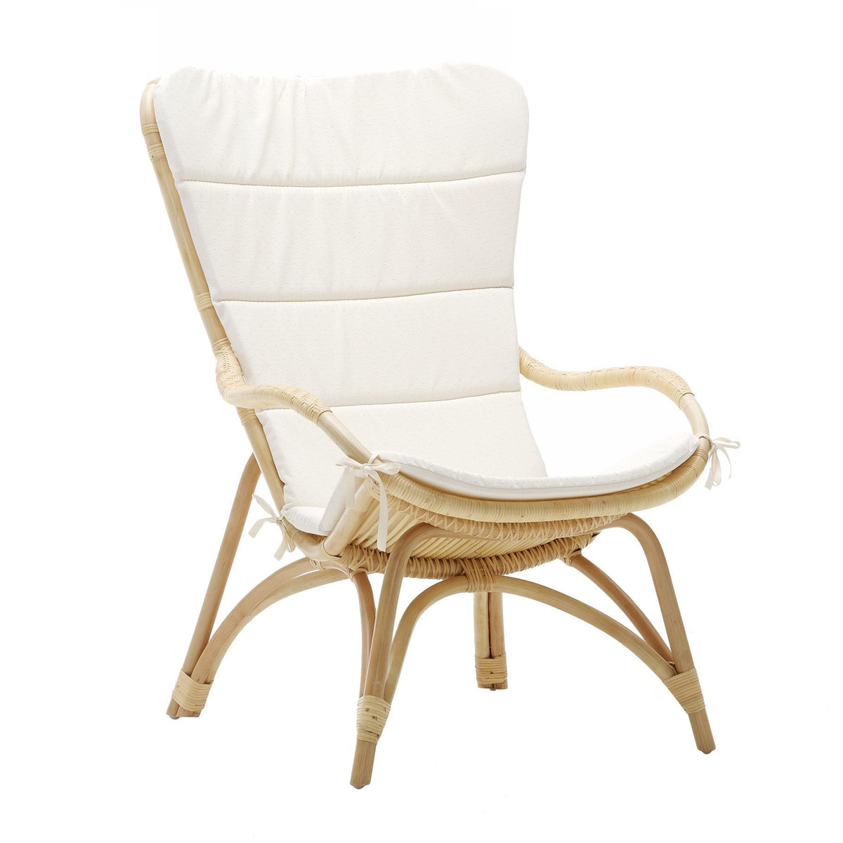Sika Design Monet High Back Chair - Natural