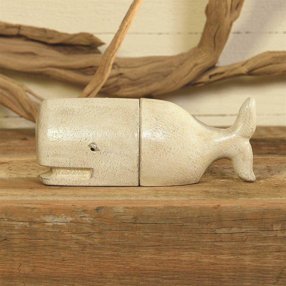 HomArt Whale Bookends - Cast Iron