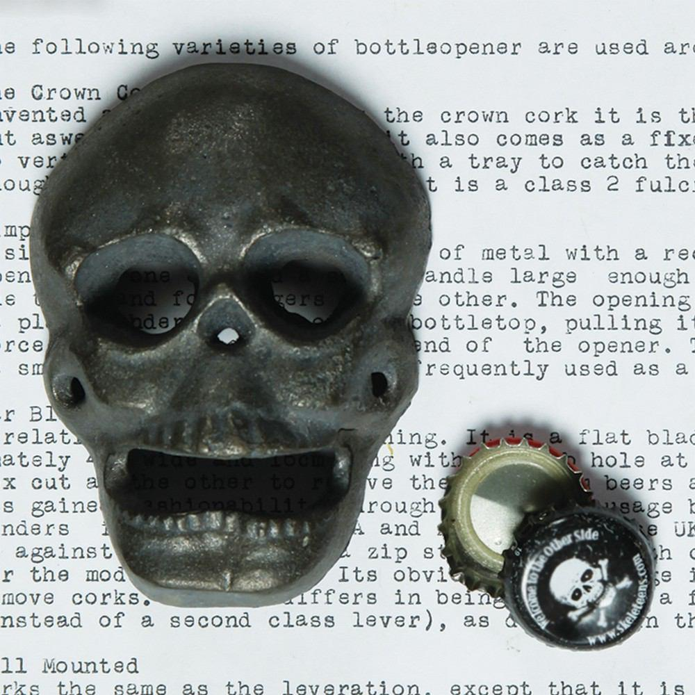 HomArt Skull Bottle Opener - Natural - Set of 6 - Feature Image