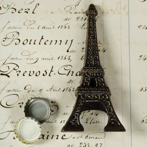 HomArt Eiffel Tower Bottle Opener - Antique Bronze - Set of 6