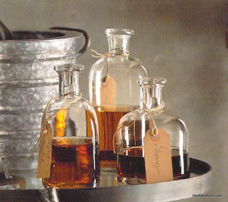Roost Apothecary Decanters - Set Of 5