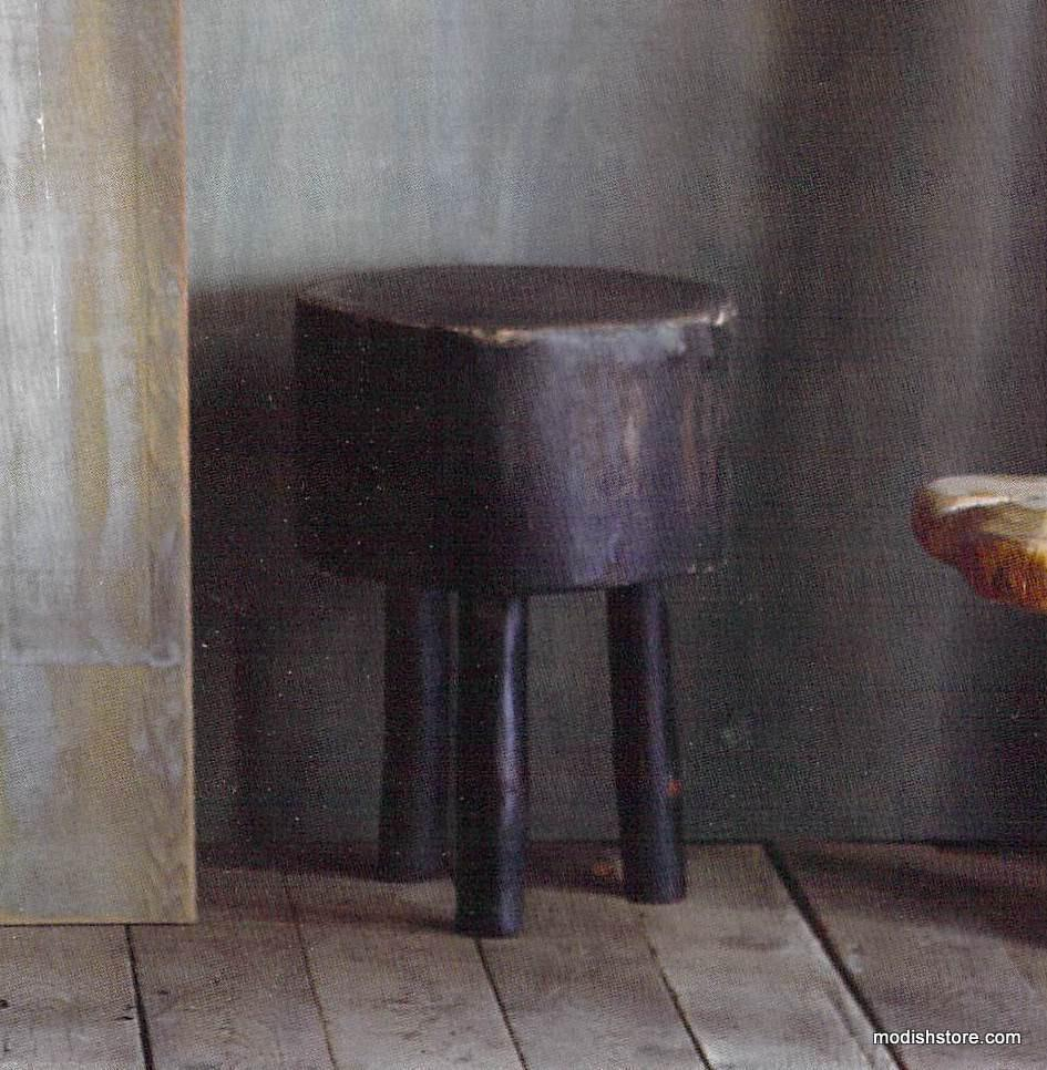 Roost Three-Legged Wood Stool - out of stock