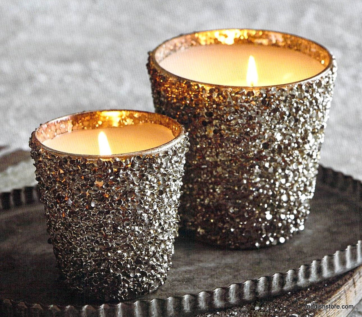 Roost Glittering Filled Candle