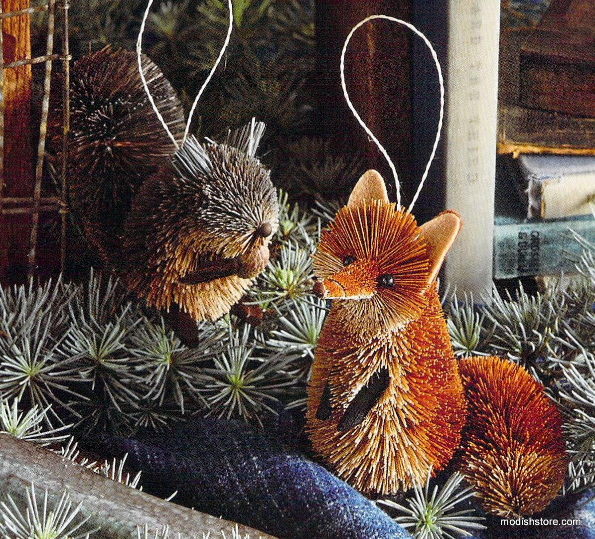 Roost Woodland Critter Ornaments