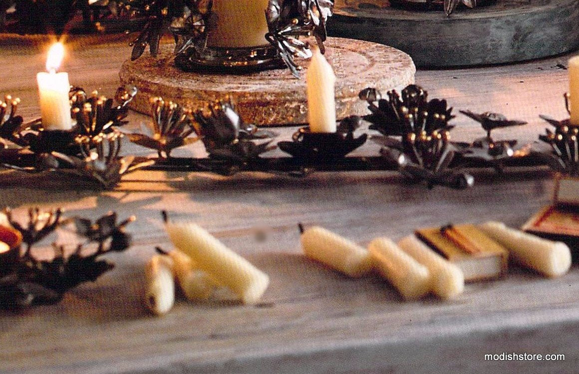 Roost Festive Lily Collection - Chime Candles - Set Of 24