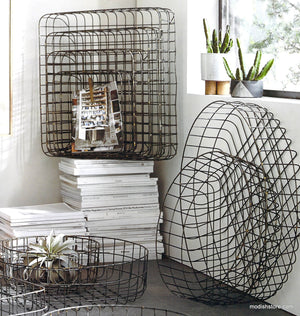 Roost Brass-Brazed Wire Baskets
