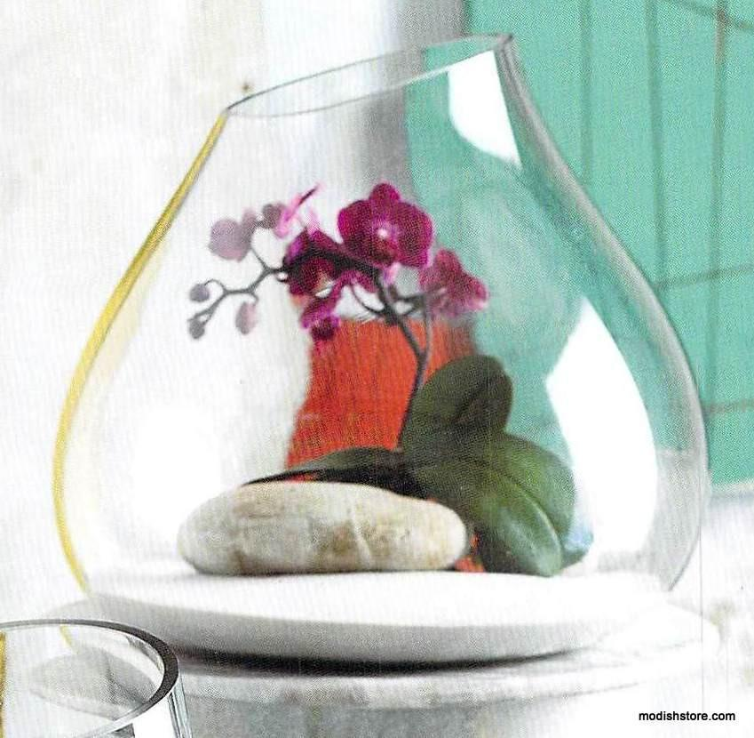 Roost Recycled Glass Bubble Terrarium - Small