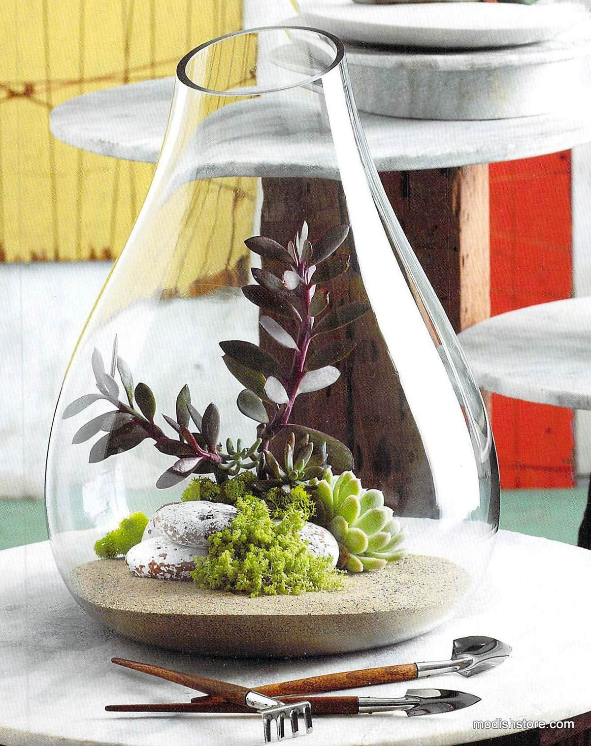 Roost Recycled Glass Bubble Terrarium Extra Large Maplenest