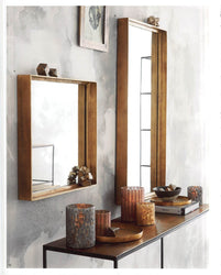 Roost Molten Brass Collection Mirrors