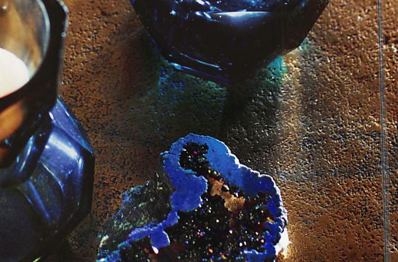 Roost Iridescent Geodes - Set Of 4