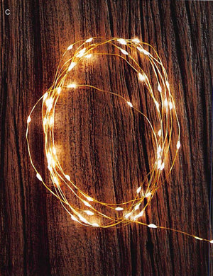 Roost Brass Wire Warm LED Strand