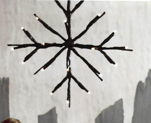 Roost Lighted Branchy Star - Set Of 4
