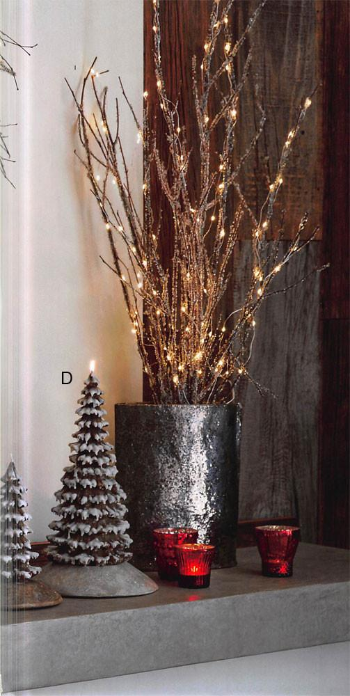Roost Snowy Tree Candles