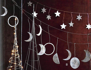 Roost Phases of the Moon & Star Garland