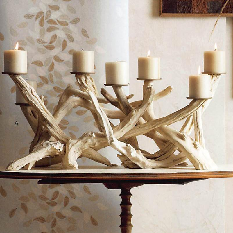 Roost Driftwood Candelabra - Horizontal