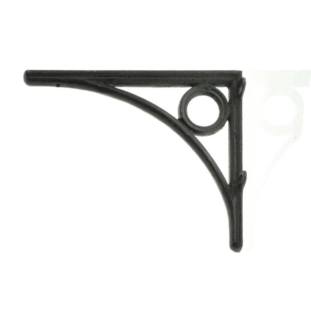 HomArt DOrsay Iron Bracket - Black - Set of 4