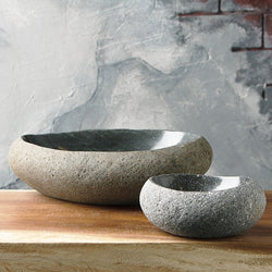 River Stone Bowls Set of 4