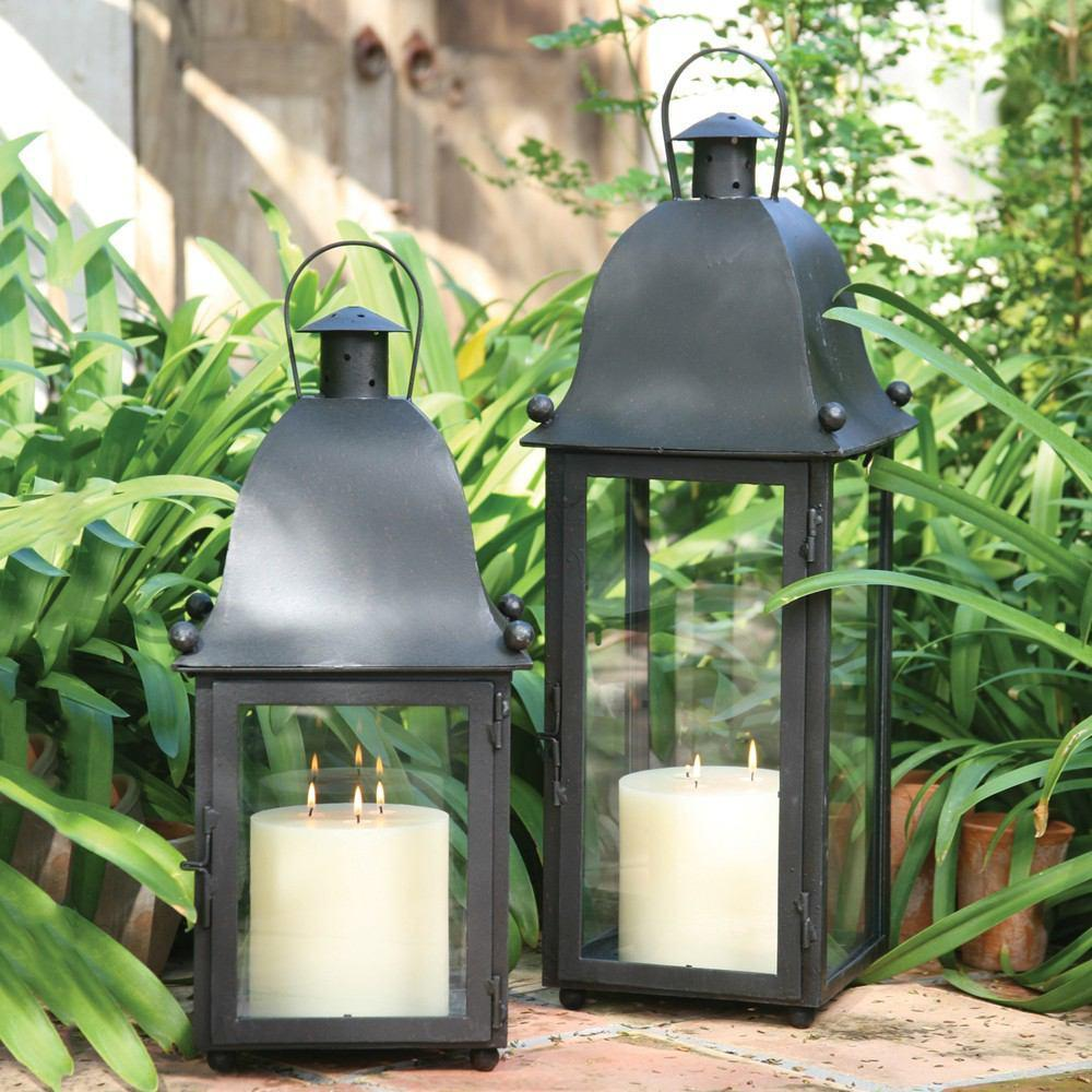 HomArt San Juan Lantern - Black - Feature Image
