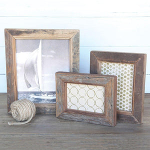 HomArt Reclaimed Wood Picture Frame - Set of 2