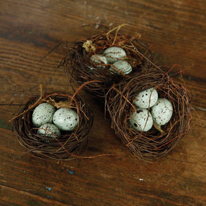 HomArt Bluebirds Nest - Set of 6