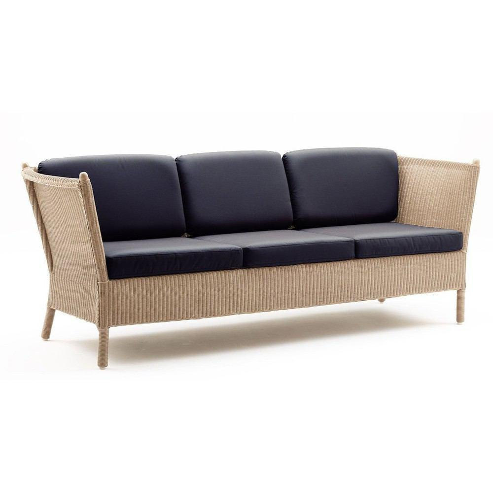 Sika Design Duo 3 Seater Sofa Loom